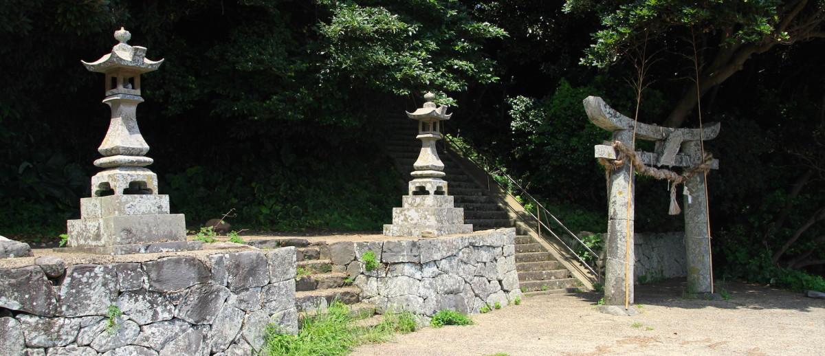 志々岐神社ニの鳥居